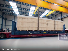 Packing and Transport of a Trumpf Lasercuttingmachines